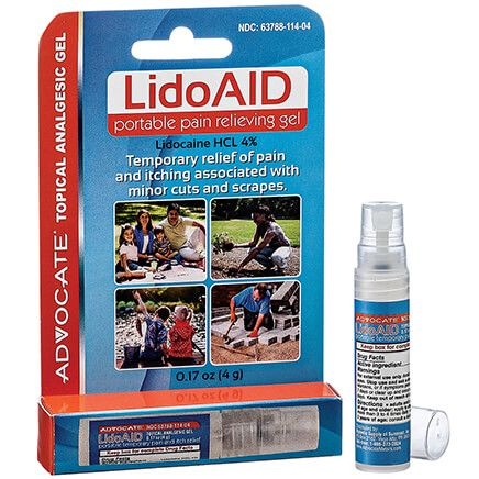 LidoAID Portable Pain Relieving Gel-368024
