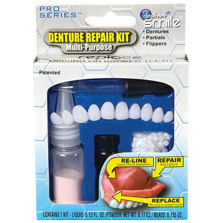 Instant Smile™ Complete Denture Repair Kit-368025