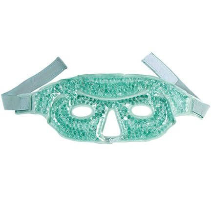 Gel Beads Hot and Cold Dual-Comfort Relief Face Mask-368258