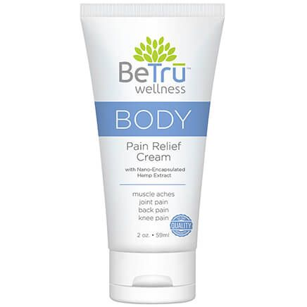 Be Tru™ BODY Pain Relief Cream with Hemp Extract-369208