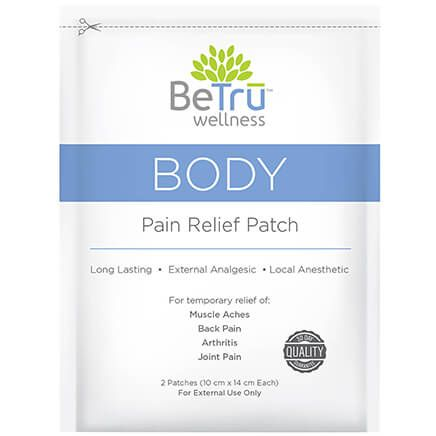 Be Tru™ BODY Pain Relief Patches with Hemp Extract-369209