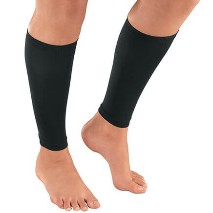 Silver Steps™ Calf Compression Sleeves, 20-30 mmHg, 1 Pair-369409