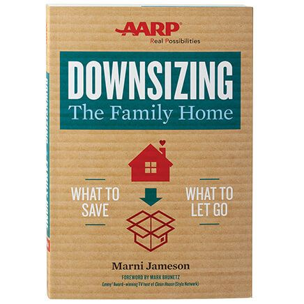 """AARP® Downsizing The Family Home"" Paperback-369615"