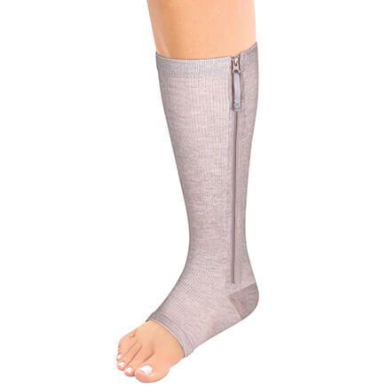 Magnetic Zipper Compression Socks-370099