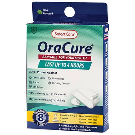 OraCure Bandages for Your Mouth-370594