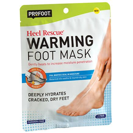 ProFoot® Heel Rescue Warming Foot Mask-371085