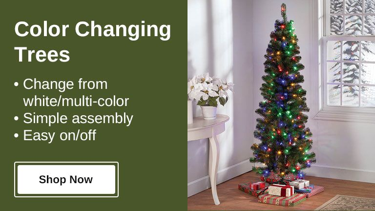 Shop Color Changing Trees