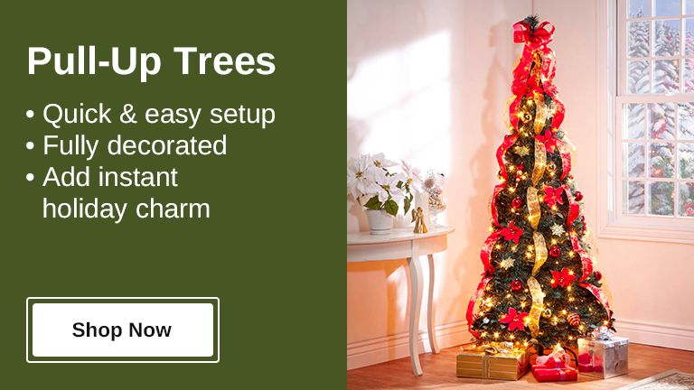 Shop Pull-Up Trees