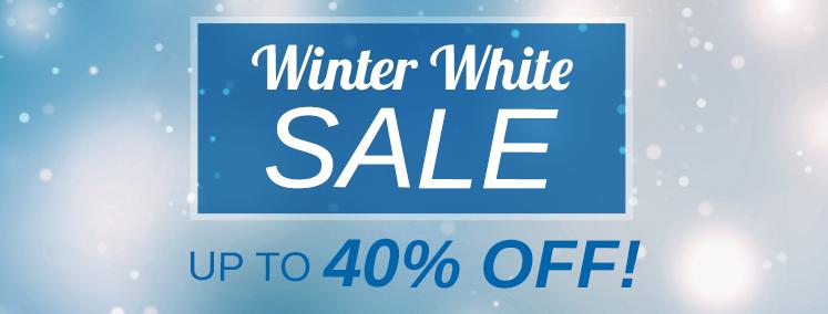 Winter White Sale