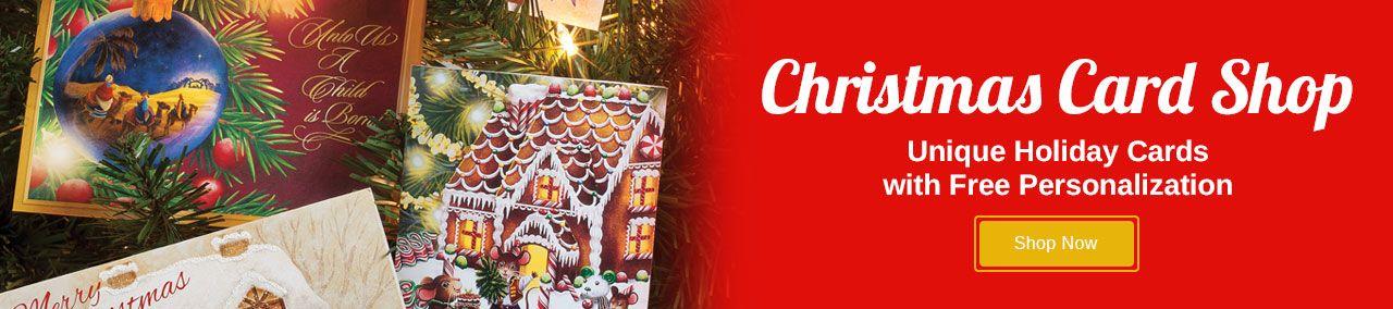 Christmas Card Shop