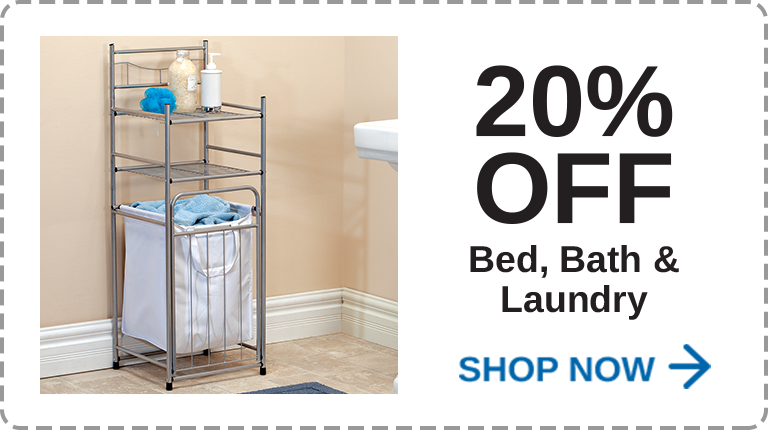 Bed, Bath & Laundry