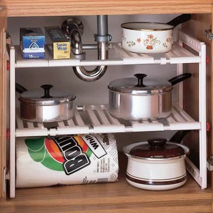 Under Sink Kitchen Shelf-302556