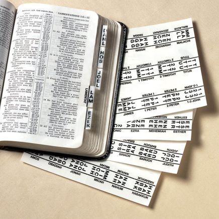 Bible Tabs-303314
