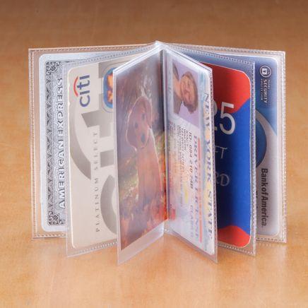 Plastic Wallet Insert - 6 Sleeve-303322