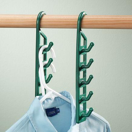 Space Saving Hangers - Set Of 4-304649