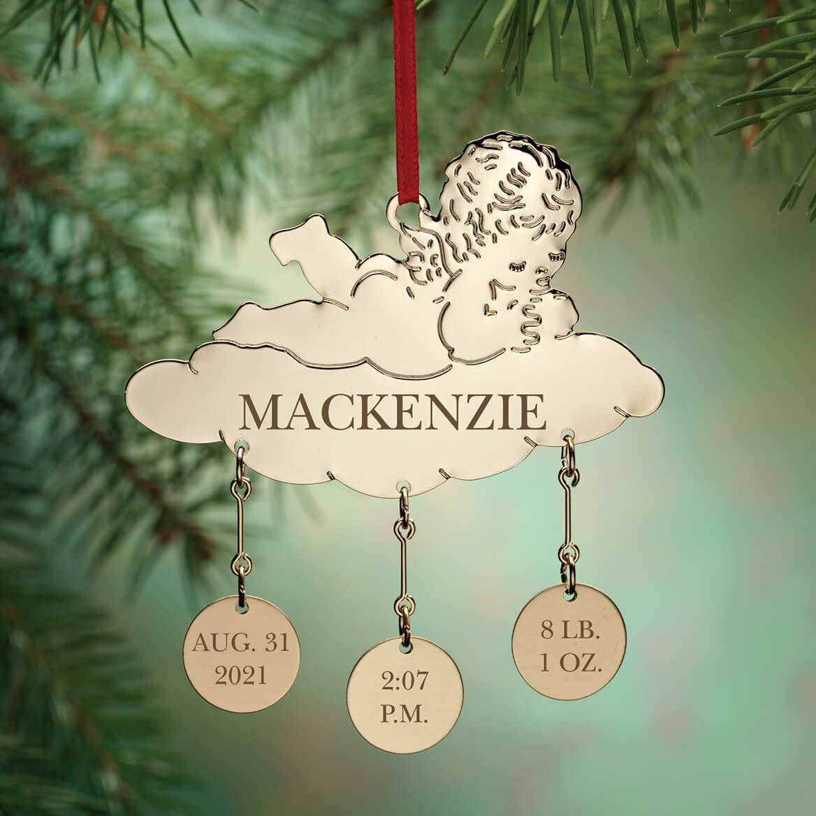 Personalized Baby Christmas Ornament-310294