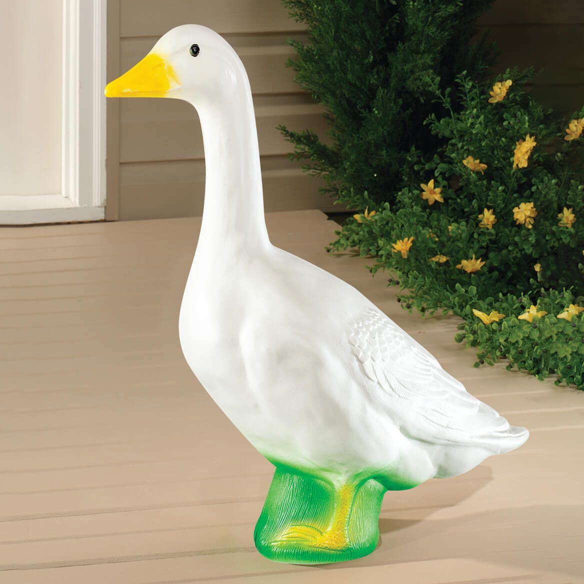 """Large White Goose 23""""H-310493"""