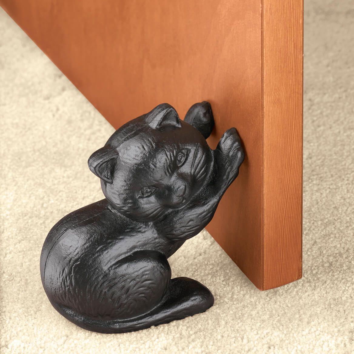 Cast Iron Cat Doorstop-310944