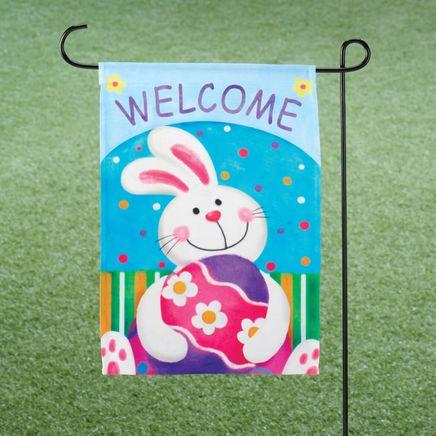 Easter Garden Flag-311455