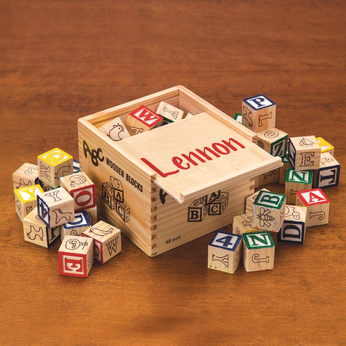 Personalized Box Of Blocks-311643