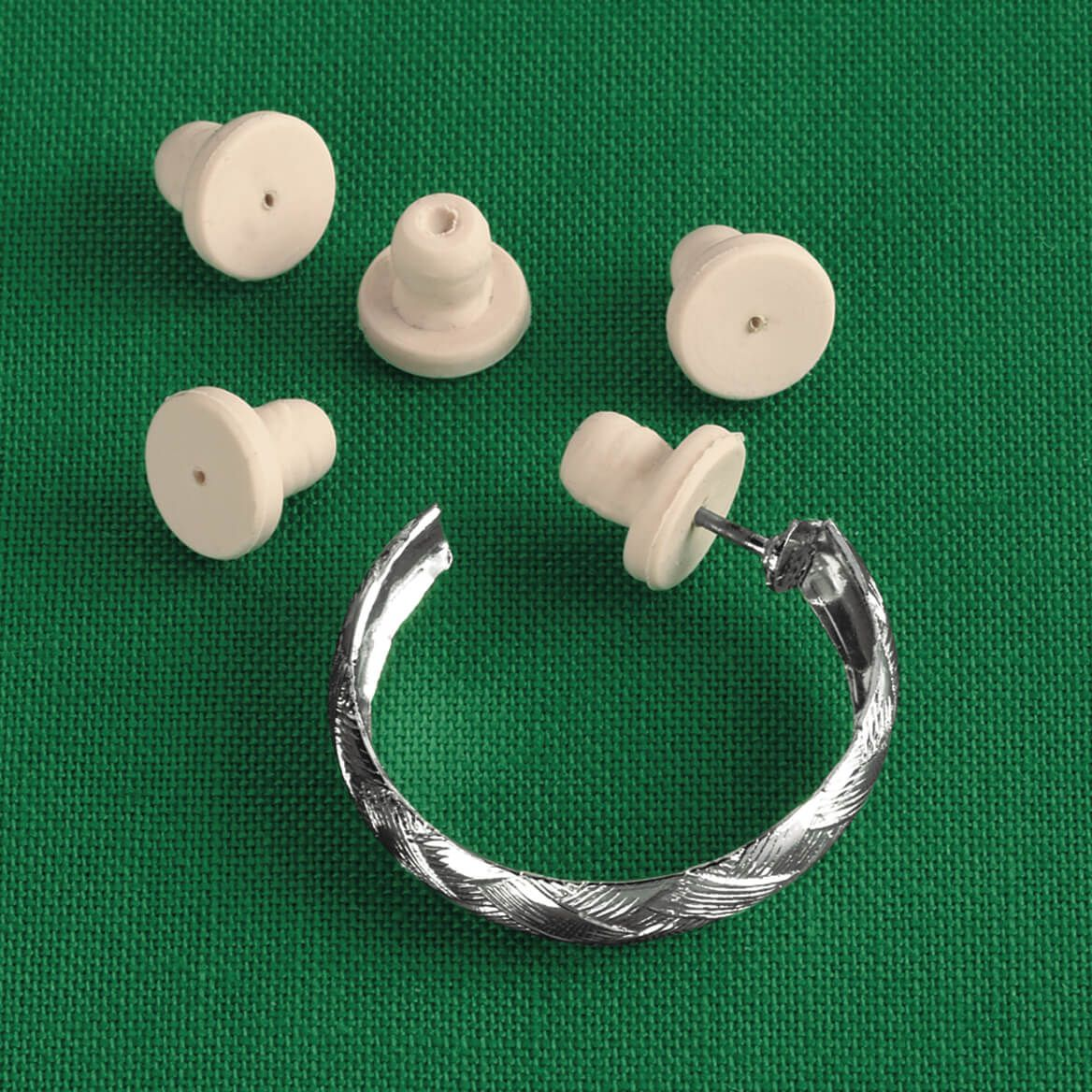 Sensitive Earring Backs 12 Pieces-312339