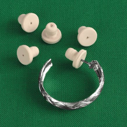 Sensitive Earring Backs, 12 Pieces-312339