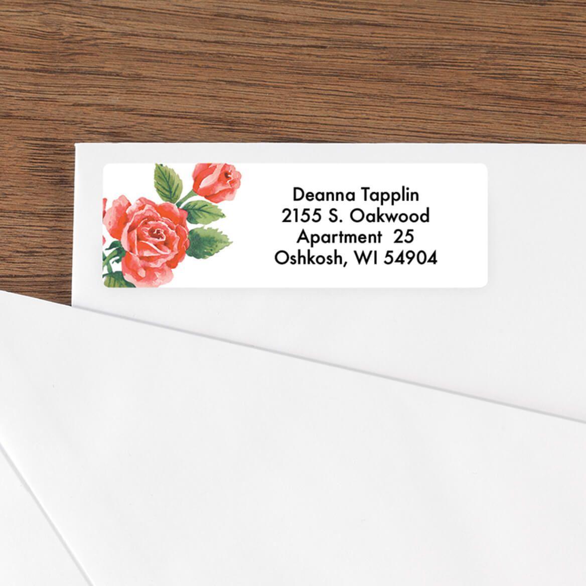 Floral Address Labels - 250-312727