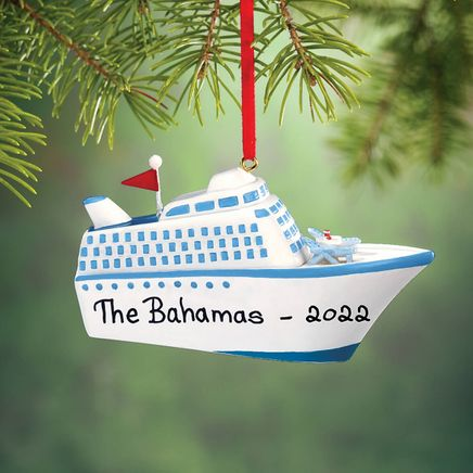 Personalized Cruise Ship Ornament-314168
