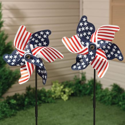 Patriotic Pinwheel - Set of 2-315356