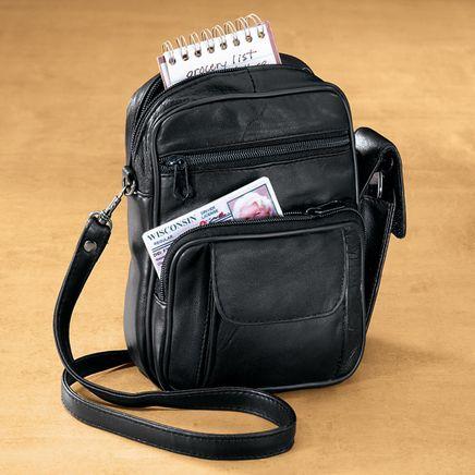 Leather Organizer Handbag-316298