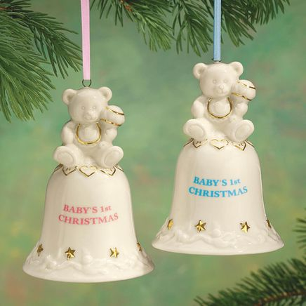 Personalized Baby's First Christmas Bell Ornament-316857