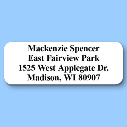 Personalized Classic Roll Address Labels, Set of 200-320117