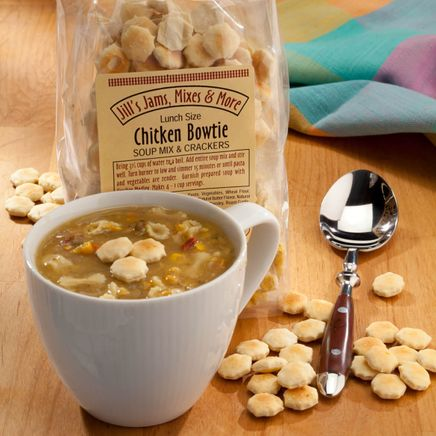 Luncheon Chicken Bowtie Soup Mix and Crackers-321046