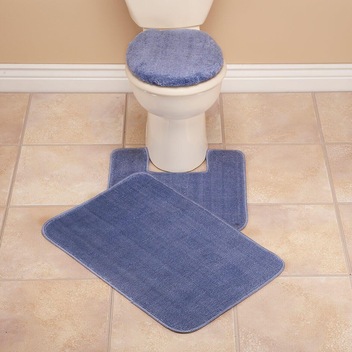 Plush Bath Rug Set-321153