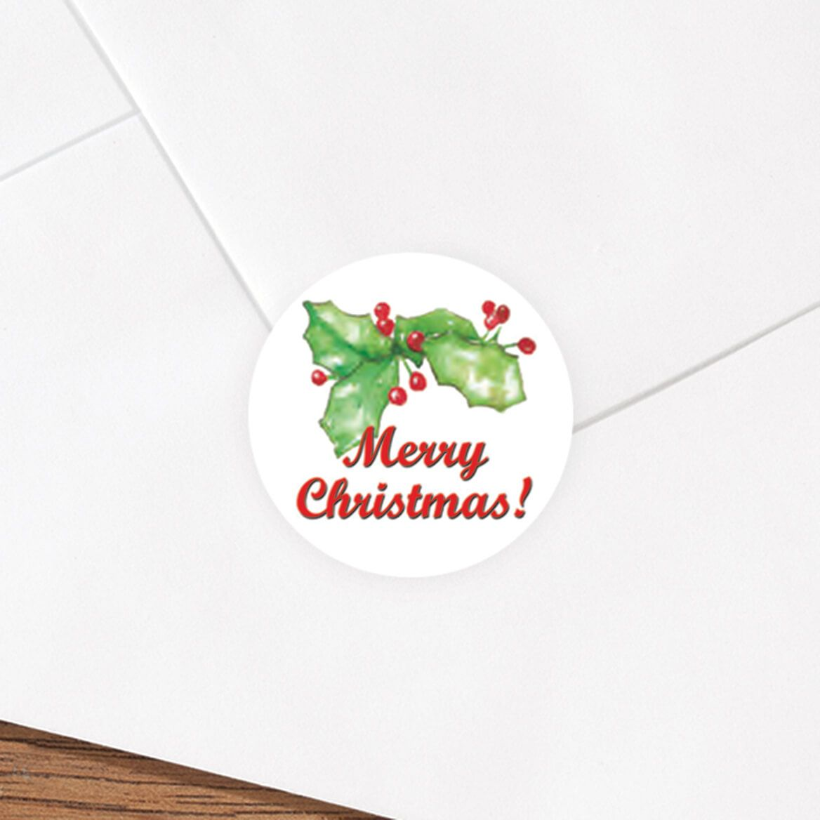 Merry Christmas Envelope Seals Set of 250-325251
