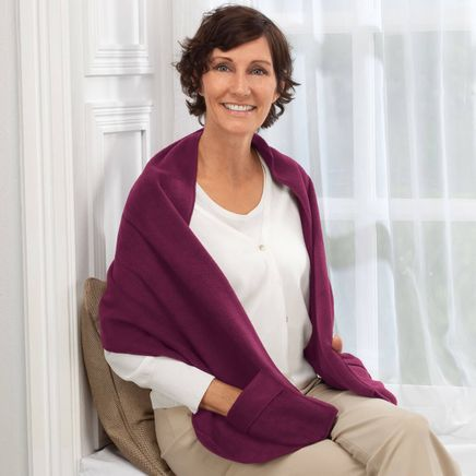 Polar Fleece Shawl-326209
