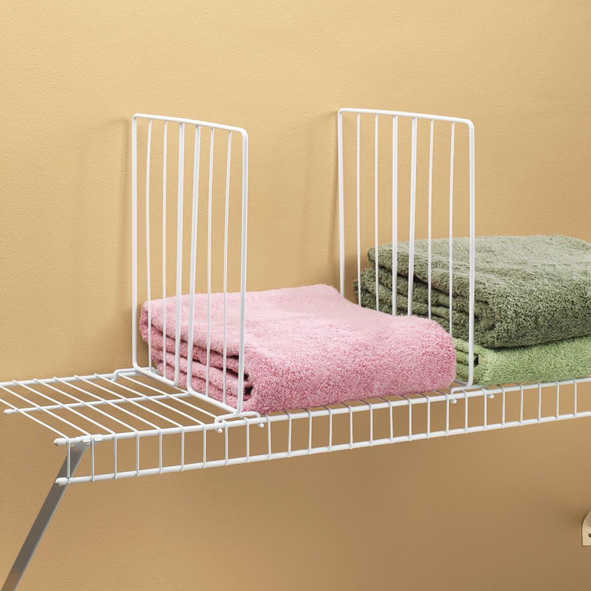 Shelf Divider for Wire Shelves Set of 4-329893