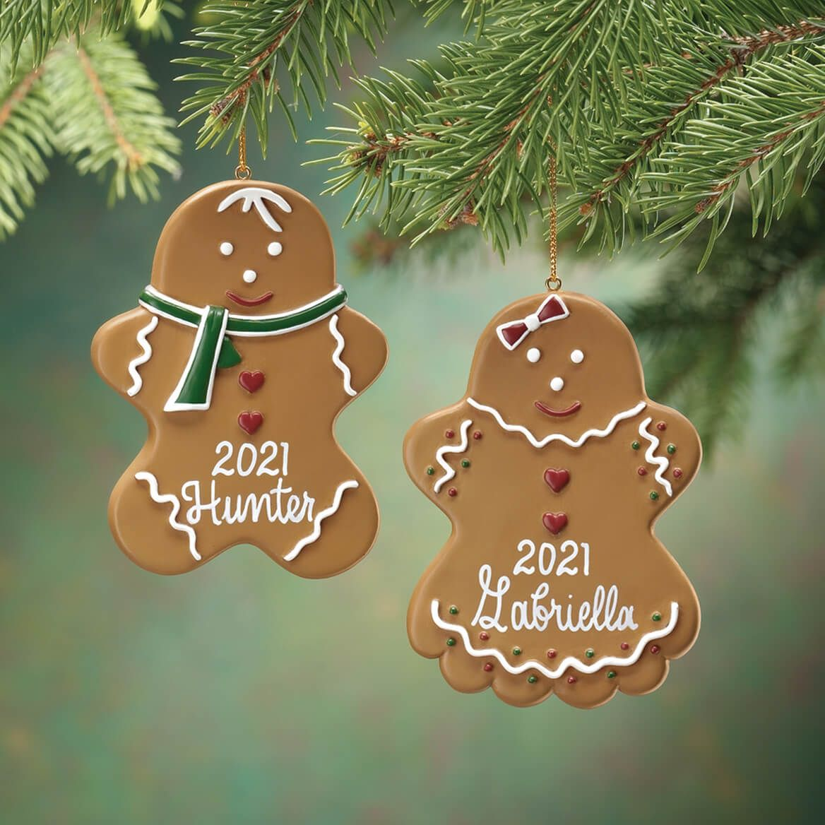Personalized Gingerbread Ornament-330522