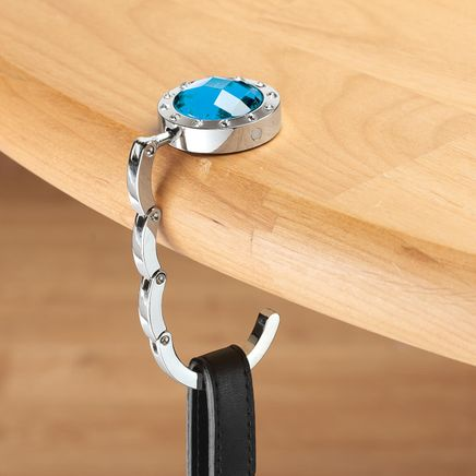 Bejeweled Folding Purse Hook-336530