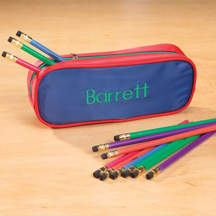 Personalized Slim Pencil Case and Pencil Set-339094
