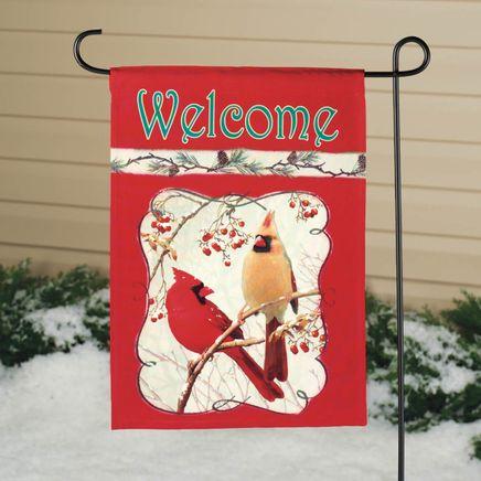 Cardinal Garden Flag-342903