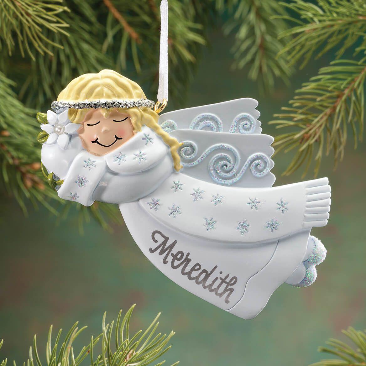 Personalized Birthstone Angel Ornament-343000