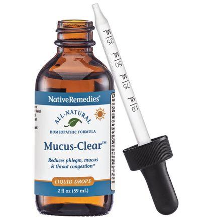 NativeRemedies® Mucus-Clear™ - 2 oz.-343693