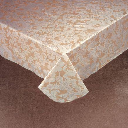 Bordeaux Floral Vinyl Table Cover-344552