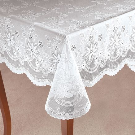 Vinyl Lace Tablecloth-344554