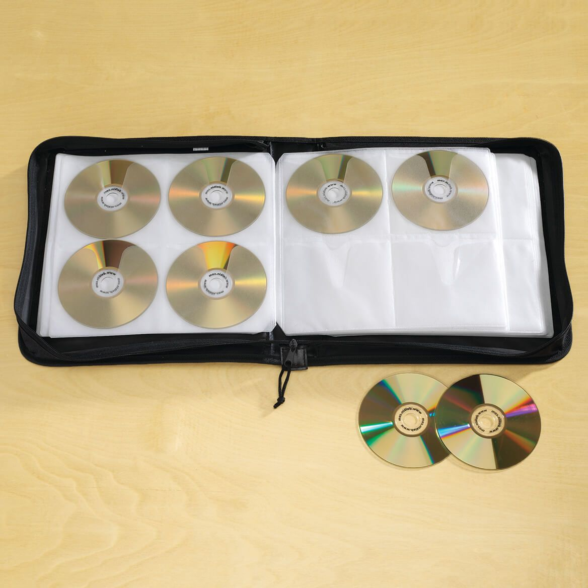 CD and DVD Holder 208 Discs-344599