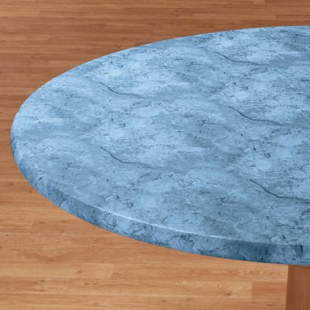 Marbled Elasticized Table Cover-344623