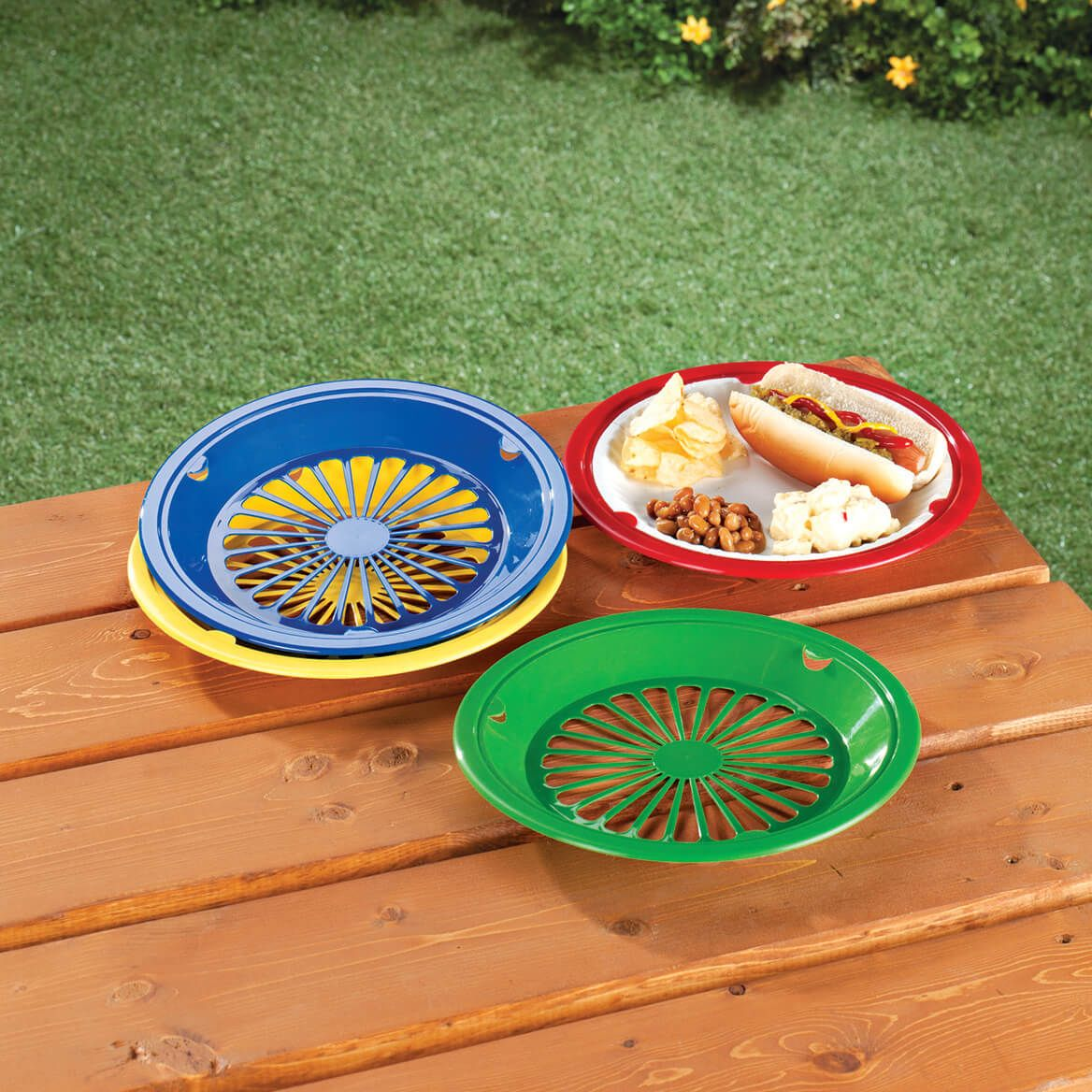 Paper Plate Holders Set of 8-344973