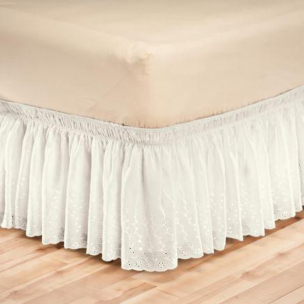 Eyelet Bed Ruffle-345177