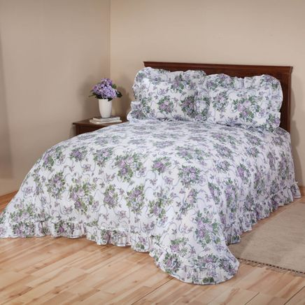 Ribbons and Roses Plisse Bedding-345203